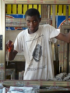 Ghana - Vocational training for young people who cannot afford an education.