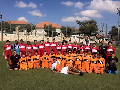 Jerusalem, Abn Al Quds - Football team boys