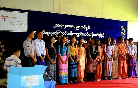 Myanmar - Education for Youth - E4Y - diploma celebration
